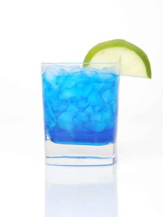 1 oz. SKYY Infusions Citrus 1 oz. Blue Curacao 1 oz. lime juice 1 oz. triple sec  Pour all ingredients into a shaker filled with ice. Shake vigorously and strain into a martini glass.  -Cosmopolitan.com