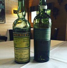 Pour digérer... Tarragone 1945 et Chartreuse de Voiron 1878... #cestbonlesplantes   via @ggomez_chef