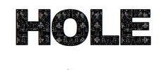 Hole band logo