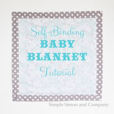 Simple Simon & Company: Skirting the Issue: A Blanket Tutorial