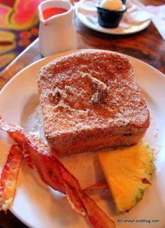 Disney Recipe: Tonga Toast from Kona Cafe in Disney World! #DisneyFood #YUM