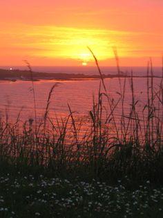 A simply stunning sunset, Portballintrae, Co.Antrim, Northern Ireland. Photo by Steve Higgins