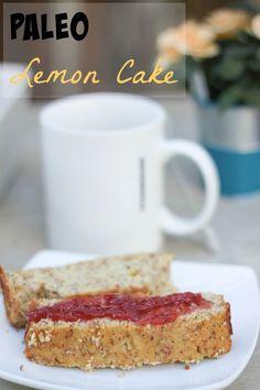 Luscious grain-free lemon cake