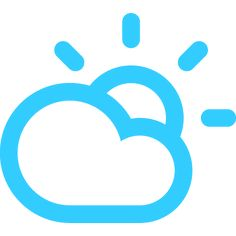 Partly Cloudy today!