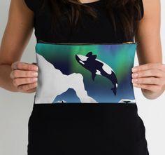 Paper Craft Orca - Studio Pouch