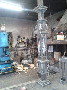 Iron Work, Blacksmithing, Wood Carving, Wrought Iron, Furniture Design, Stairs, Steel, Ideas, Decor