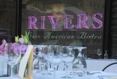 Rivers Restaurant | Contemporary American cuisine with global influences (Loop, west) Breakfast/Bistro lunch&dinner