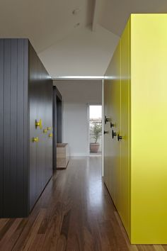 Love this use of muuto dots as doorknobs  By Edward Moore architects http://edwardsmoore.com/?p=1311