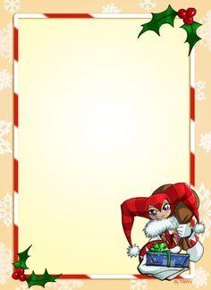 Free Christmas Stationary Downloads | Christmas Stationary Downloads ...