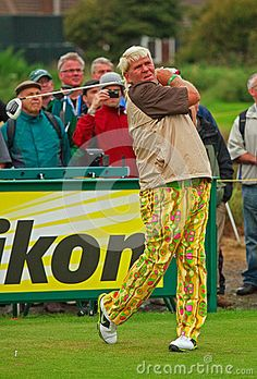 British Open Golf Championship - July 2012- © Atgimages | Dreamstime.com- American golfer John Daly on the final day of practice for the 2012 British Open Golf Championship played at Royal Lytham & St Annes between 19th and 22nd July 2012.