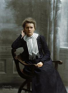 Marie Curie, ca. 1905  Physicist and chemist, pioneer in radioactivity research.