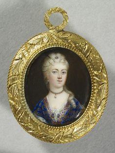 Joseph Lee (1780-1859) - Princess Clementina Sobieska (1702-1735) Miniature Portraits, Miniature Paintings, House Of Stuart, Kingdom Of Great Britain, Museum, Daguerreotype, Best Fruits, Royal House, Illuminated Manuscript