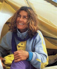 Wanda Rutkiewicz After Her Ascent Of Gasherbrum II On July 12, 1989 - Wanda Rutkiewicz: A Caravan Of Dreams book