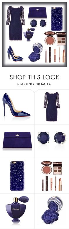 """""""Party!"""" by sumaita ❤ liked on Polyvore featuring Christian Louboutin, Diane Von Furstenberg, L.K.Bennett, Effy Jewelry, Casetify, Charlotte Tilbury and Guerlain"""
