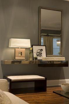 Foyer Remodel - contemporary - entry - chicago - Rosalinda's Interiors, Inc.