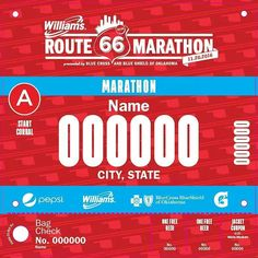We have a #Rt66run bib waiting for you. Register today #linkinbio  #marathon #Halfmarathon #marathonrelay #running #runner #instarunner