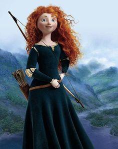 Merida - Brave - Disney Pixar