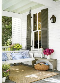 Things We Love:Porch Swings - Design Chic