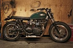 Custom Triumph Bonneville by CRD