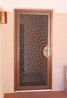 Sunray Bowed Twist Security Screen Door                                                                                                                                                                                 More