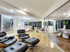 Modern House Terrace And Garden Design In Brisbane With Exterior - Modern house terrace design