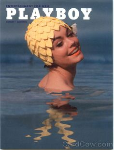 Actually wore bathing caps like this in 1962