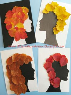 Fall craft - hair styling