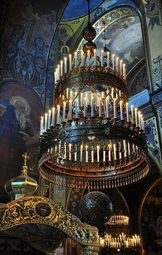 Colors and light, St. Volodymyr's Orthodox church in Kiev