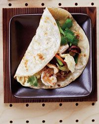 Moo Shu Shrimp--we make this all the time but usually substitute tofu for the shrimp. Delicious & easy!