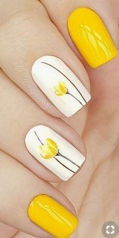 yellow nail art design idea rbrush- awesome beautiful yellow nail art design idea rbrush- Read More by lailadyrendal.awesome beautiful yellow nail art design idea rbrush- Read More by lailadyrendal. Best Nail Art Designs, Nail Designs Spring, Toe Nail Designs, Beautiful Nail Designs, New Nail Art, Easy Nail Art, Cool Nail Art, Acrylic Nail Art, Yellow Nails Design