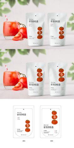 패키지디자인 포트폴리오 보기 | 패키지 디자인 외주 | 디자인공모전 | 라우드소싱 Packaging Snack, Organic Packaging, Juice Packaging, Bottle Packaging, Brand Packaging, Food Branding, Food Packaging Design, Packaging Design Inspiration, Web Design