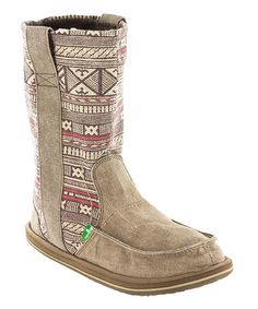 Another great find on #zulily! Sanuk Natural Wanderer Boot - Women by Sanuk #zulilyfinds