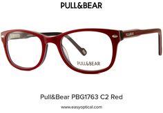 Pull&Bear PBG1763 C2 Red Pull, Wayfarer, Eyewear, Bear, Sunglasses, Style, Swag, Eyeglasses, Bears