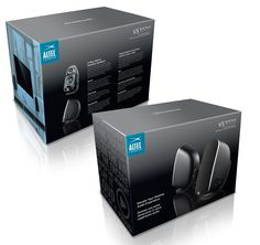 Altec Lansing 3020 Speakers Packaging | Billy Shen Art Direction