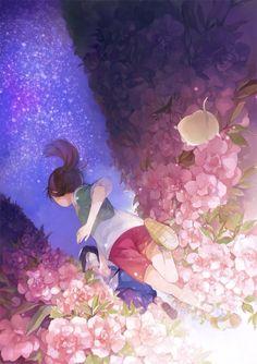 Cihiro X haku Spirited away