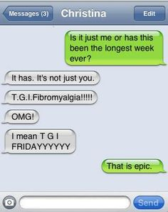 TGIF. new meaning.