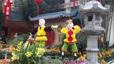 Bellagio consrvatory 2014 Chinese New Year.