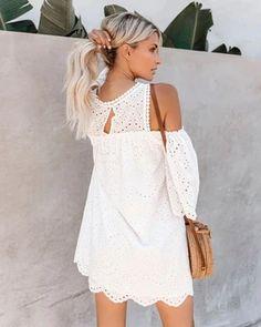 Summer Style Mini Dresses – Maizys Boutique Boho Mini Dress, Mini Dresses, Informal Wedding Dresses, Lace Back, Backless, Cold Shoulder Dress, Sexy, Summer, Boutique