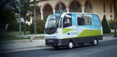SciFi to SciFact: Transport and robots are always an issue in scifi novels, for good or bad and now -  There'll be no arguing with the driver on this bus: the rides are free and there's no driver anyway. Trikala, a rural town in northern Greece, has been chosen to test a French-built driverless bus.