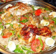 Senegalese recipe, yum!