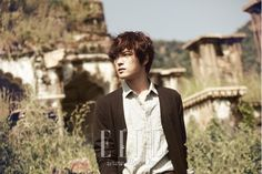 kim jaejoong for elle november issue 2012