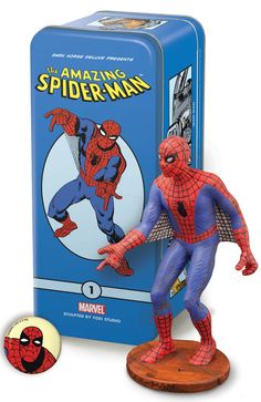 Steve Ditko 1960s inspired Spider-Man