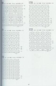 SOLO PUNTOS: Crochet puntos calados 172