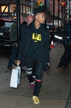 Jaden Smith New York 2016-12-12