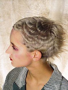 Short Textured Hairstyles Women...different
