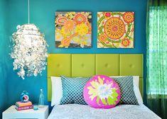 Colorful Bedroom Interior Design Sample | Simplicity ...