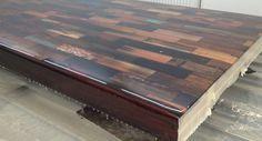 www.gietfabriek.nl - Gietproces van houten tafels voor de Telegraaf in Amsterdam