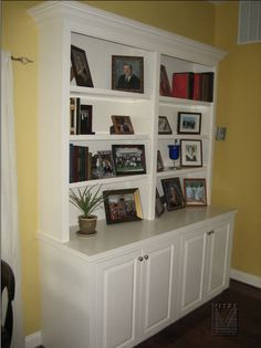 exactly what i want!!!! except it will only be one and I don't think I'd want the cupboard to stick out that much farther than the shelves