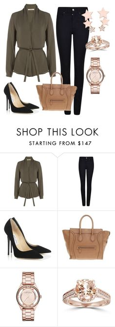"""Untitled #145"" by lusistep on Polyvore featuring Etro, Giorgio Armani, Jimmy Choo, CÉLINE, Marc by Marc Jacobs and Hippie Dreamers"
