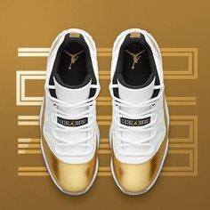Insider access to the Air Jordan 11 Retro Low 'White & Metallic Gold'. Explore, buy and stay a step ahead of the latest sneaker drops with Nike+ SNKRS. Nike Air Jordans, Nike Air Max, Womens Jordans Shoes, Cool Jordans, Air Jordans Women, Shoes Jordans, Nike Sportswear, Nike Lebron, Cute Shoes